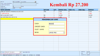 Software Retail Penjualan