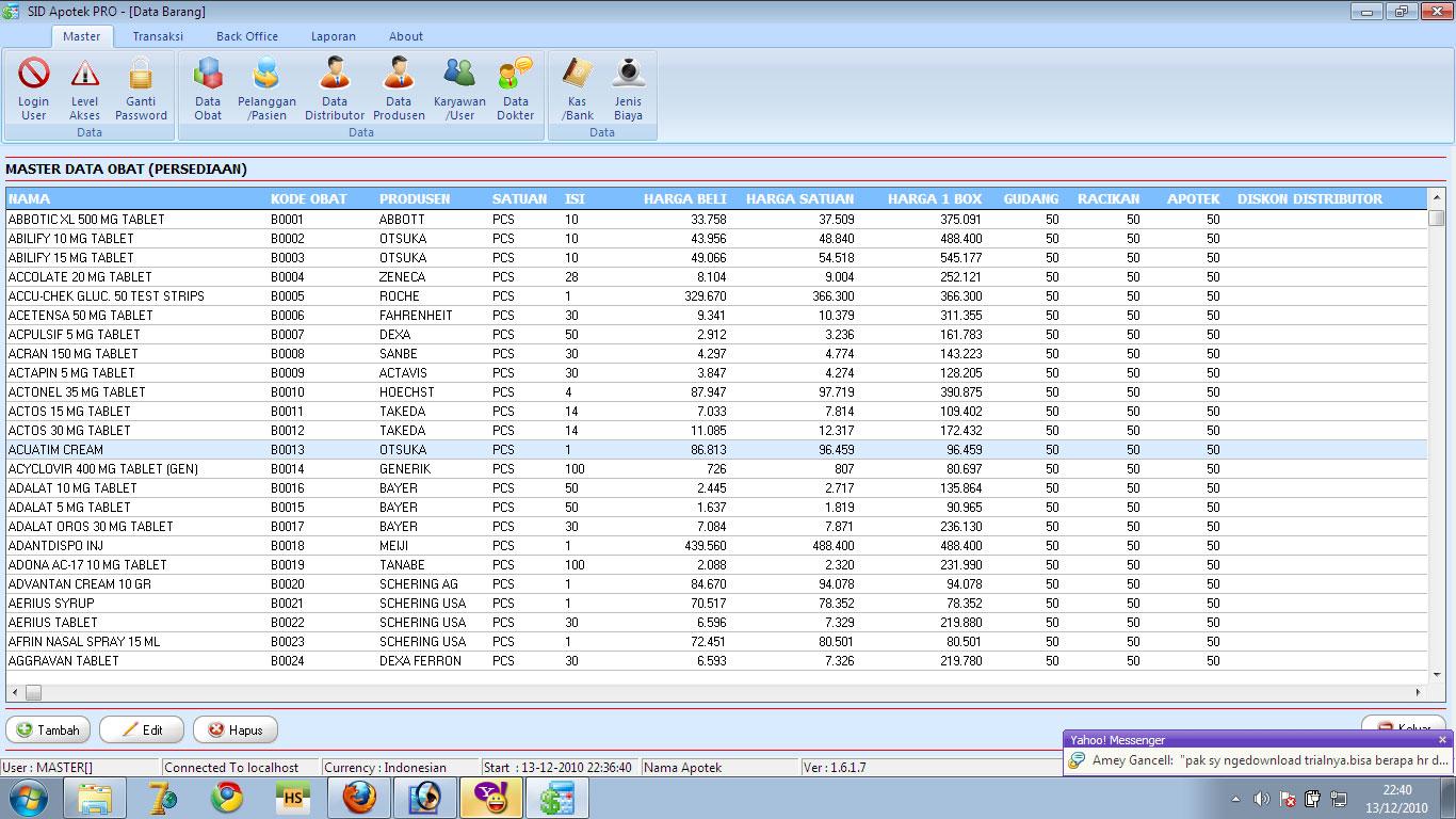 Software Apotek Program Apotik Untuk Penjualan Obat